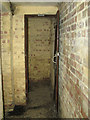 TF9941 : Toilet in WW2 Battle Headquarters by Evelyn Simak
