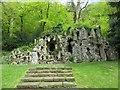 ST9326 : Grotto near the Castle by Bill Nicholls