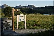SH5752 : Start of the Lôn Gwyrfai Path by Peter Trimming