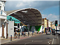 TQ3476 : The Peckham Arch, Peckham Space and Peckham High Street by Robin Stott