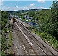 ST0381 : Pontyclun railway station by Jaggery