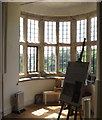 SW8458 : Bow window at Trerice by David Hawgood