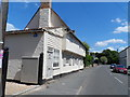 TL4745 : St Peter's Street and Kings Head House, Duxford by Bikeboy