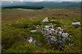 SD6460 : Ancient shooting butt on Greenbank Fell by Tom Richardson