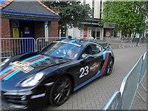 SE3406 : Bike race lead car by Steve  Fareham