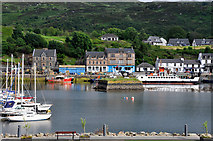 NR8668 : Tarbert Harbour by Stuart Wilding