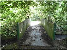 TQ2688 : Bridge across Mutton Brook by David Howard