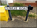 TL8741 : Jubilee Road sign by Adrian Cable