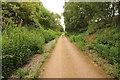 SK6261 : Sherwood cycle track by Richard Croft