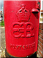 TL8741 : Royal Cypher on Humphrey Road Edward VIII Postbox by Adrian Cable
