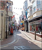 SY6878 : New Street, Weymouth by Jaggery