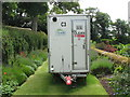 "SW8458 : Trerice, asbestos removal trailer, ""clean"" end by David Hawgood"