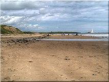 NZ3573 : The Beach at Whitley Bay by David Dixon