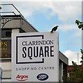SJ9494 : Rook at Clarendon Square Shopping Centre by Gerald England