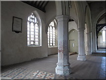 TL9925 : St. Martin's Church, West Stockwell Street, CO1 - north aisle by Mike Quinn
