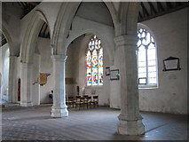 TL9925 : St. Martin's Church, West Stockwell Street, CO1 - south aisle by Mike Quinn