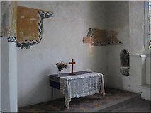 TL9925 : St. Martin's Church, West Stockwell Street, CO1 - altar in south aisle by Mike Quinn