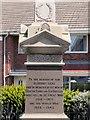 NZ3376 : War Memorial Inscription, Seaton Sluice by David Dixon