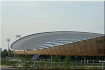 TQ3785 : View of the Velodrome from Queen Elizabeth Olympic Park #6 by Robert Lamb