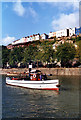 ST5772 : Floating Harbour Ferry by Des Blenkinsopp