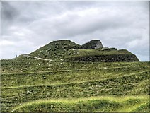 NZ2377 : Northumberlandia, The Lady's Face in Profile by David Dixon