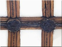 TL9925 : St. Martin's Church, West Stockwell Street, CO1 - chancel roof bosses by Mike Quinn