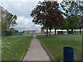 ST4788 : Path into Caldicot Comprehensive School by Jaggery