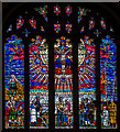 TQ8209 : East Window, St Clement's church, Hastings by Julian P Guffogg