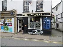 SO2956 : Wine Vaults, Kington by Richard Webb