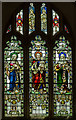 TQ8209 : Stained glass window, St Clement's church, Hastings by Julian P Guffogg