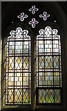 TL9925 : St. Martin's Church, West Stockwell Street, CO1 - stained glass window, south aisle by Mike Quinn