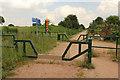 SK6461 : Bilsthorpe cycle track by Richard Croft