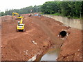SP0176 : Rover Longbridge, Tunnel Exposed by Demolition Work by Roy Hughes