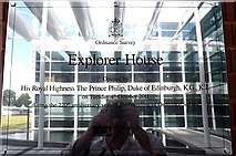 SU3715 : Explorer House sign by Adrian Cable