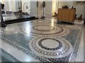 SX7467 : Exquisite mosaic tiled floor, Buckfast Abbey church by Derek Voller