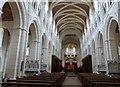 SX7467 : The Nave, Buckfast Abbey church by Derek Voller