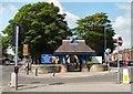 SJ9391 : St Mark's Lychgate by Gerald England