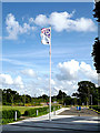 SU3715 : Flagpole at Explorer House by Geographer