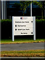 SU3715 : Sign at Ordnance Survey Headquarters by Adrian Cable