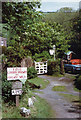 SS6744 : Lynton & Barnstaple Railway: towards Fair View by Martin Bodman