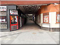 ST3188 : Southern entrance to Market Arcade, Newport by Jaggery