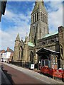 SK5804 : Leicester Cathedral by Paul Gillett