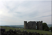 NY9084 : Ridsdale iron works furnace house from A68 by Jo Turner