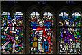 TQ7808 : Stained glass window, St Elthelburga's church, St Leonards on Sea by Julian P Guffogg