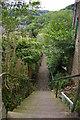 SD9927 : Steep Fields Steps, Hebden Bridge by Christopher Hilton