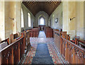 TG4612 : St Mary, Thrigby - West end by John Salmon