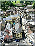 SP0202 : West from St John's Church tower roof, Cirencester (3) by Brian Robert Marshall