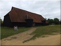 TL8422 : Coggeshall Grange Barn by David Smith