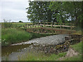 SD5598 : Footbridge over the River Mint by Karl and Ali