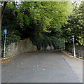 SS6493 : One-way traffic along Ffynone Drive, Swansea by Jaggery